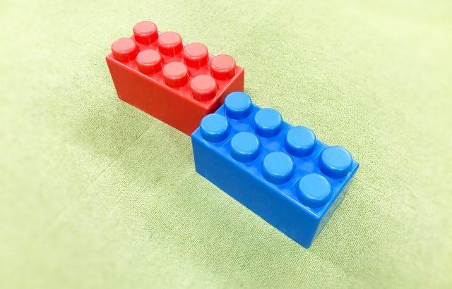 たんぱく質はブロックおもちゃ。